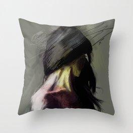 sprites Throw Pillow