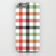 pattern series 056 gingham iPhone 6s Slim Case