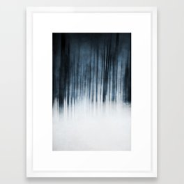 Abstract Forest Framed Art Print