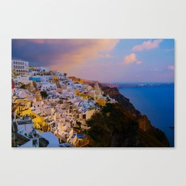 Santorini,Greece Canvas Print