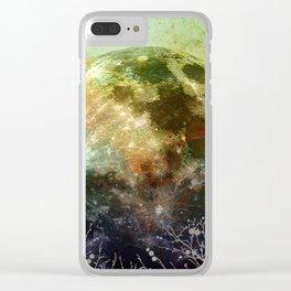 MOON under MAGIC SKY X-1 Clear iPhone Case
