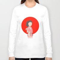 chihiro Long Sleeve T-shirts featuring Chihiro by adovemore