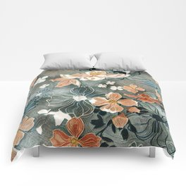 Fading Colors Comforters