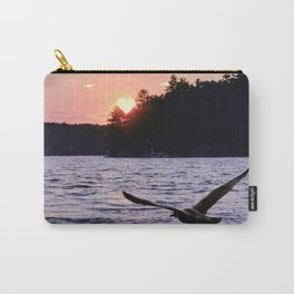 Fly into the Sunset Carry-All Pouch