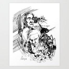 Ant Story Art Print