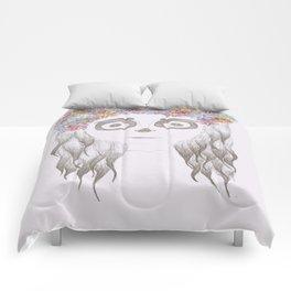 festival skull Comforters
