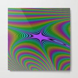 Fractal Spectrum Metal Print