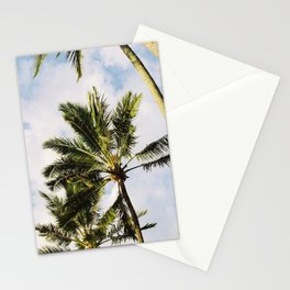 Palm tree in Cairns Stationery Cards