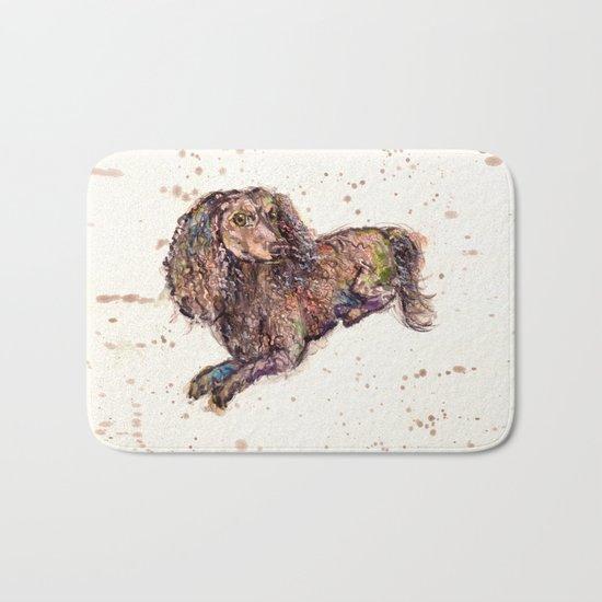 Dachshund Dog Bath Mat