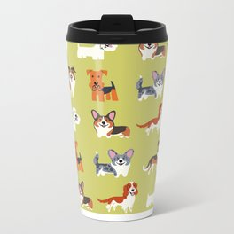WELSH DOGS Metal Travel Mug