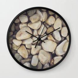White Stones Wall Clock