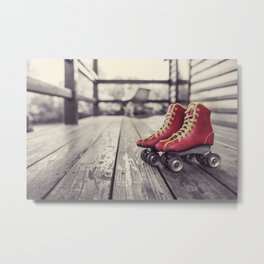 No Skating in the House Metal Print