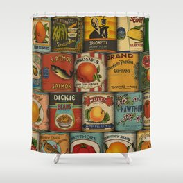 Canned in the USA Shower Curtain