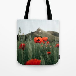 Poppies popping at Chautauqua Park Tote Bag