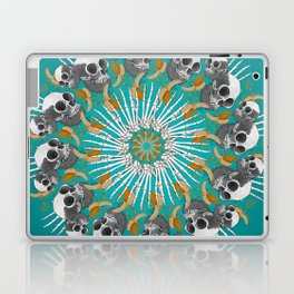 Baboon Mandala Laptop & iPad Skin