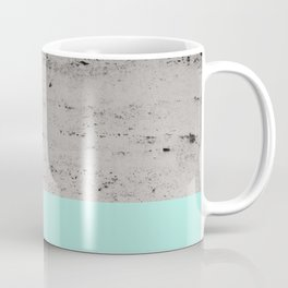 Bright Mint on Concrete #1 #decor #art #society6 Coffee Mug