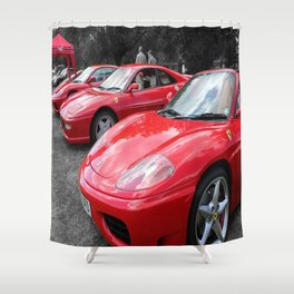 Red Heaven! Shower Curtain