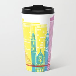 Omaha V2 skyline pop Travel Mug