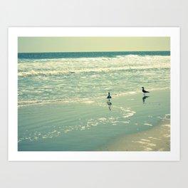 Glistening Sea Art Print