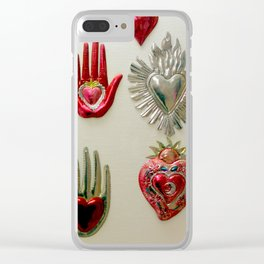 Don't Stop...In The Name Of Love Clear iPhone Case