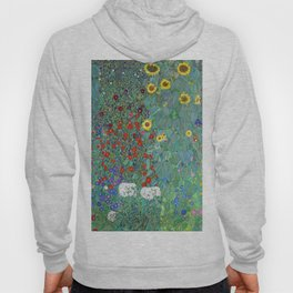 Gustav Klimt - Poppy Field 1907 (new color rendition) Hoody