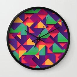 On the Floor Wall Clock