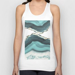 Sea Agate Unisex Tank Top