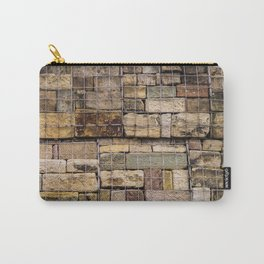 Caged Stones Carry-All Pouch