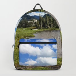 Mountain Bliss in Summer Backpack