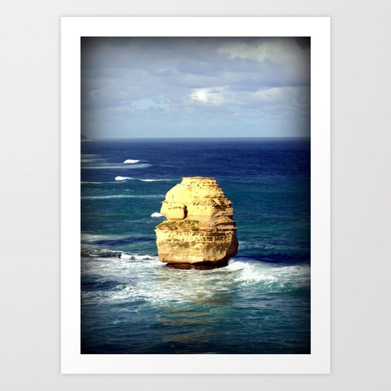 Limestone Rock Art Print