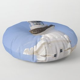 Byron Bay Lighthouse blue Sky Floor Pillow