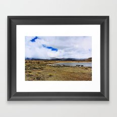 Rural Colorado Framed Art Print