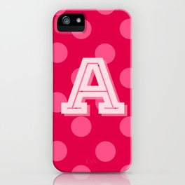 A is for Awesome iPhone Case