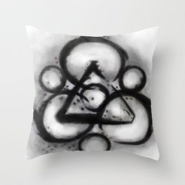 Coheed and Cambria Watercolor Painting  Throw Pillow
