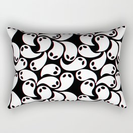 3D Ghosties Rectangular Pillow