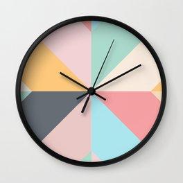 Geometric Pattern II Wall Clock