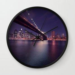 Brooklyn Bridge, NYC Wall Clock