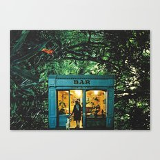 Bar Canvas Print