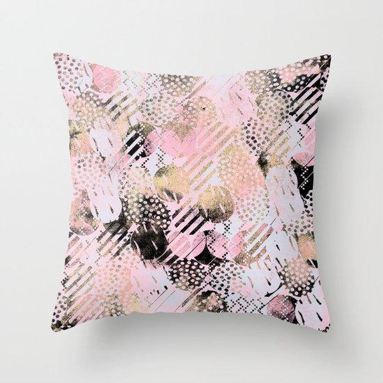 PatternMix01 Throw Pillow