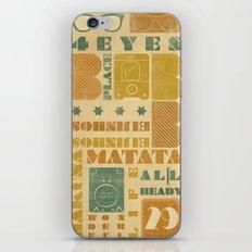 b_place iPhone & iPod Skin