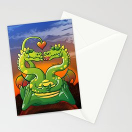 Dragons Madly in Love Stationery Cards