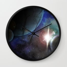 Space Age Wall Clock