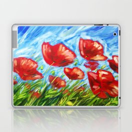 Wild Poppies by Ira Mitchell-Kirk Laptop & iPad Skin