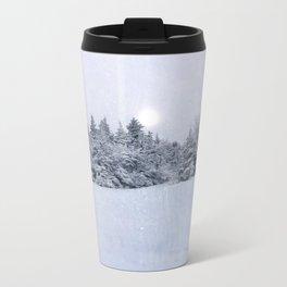 Tree Line Metal Travel Mug