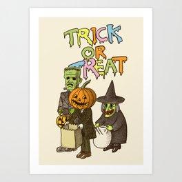 Happy Halloween! Art Print