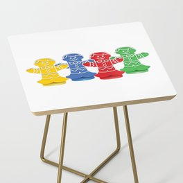 Candy Board Game Figures Side Table