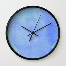 Ocean Wave Water Color Abstract Wall Clock