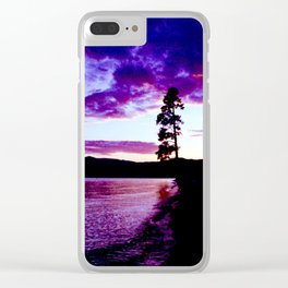 Sighing Clear iPhone Case