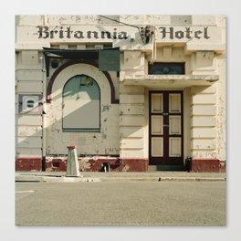 Britannia Hotel Canvas Print