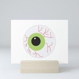 Halloween Scary Eyeball Mini Art Print